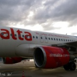 『マルタ旅行記5 マルタ航空でマルタ到着、エクスペディアの送迎は安いが面倒で不安』の画像