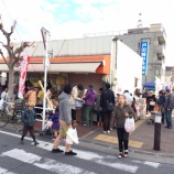 『朝市 in 上戸田開催1周年! 日曜日の朝の市役所南通りが賑わいのある楽しみ空間になっていました』の画像
