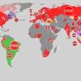 海外「日本は形が違うんだな」世界各国の一時停止標識を見た海外の反応