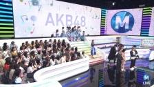 【松井珠理奈復帰後初TV】AKB48「ミュージックステーション」画像まとめ