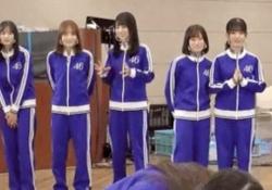 【神GIF】『このシーン』の田村真佑と賀喜遥香の動きwwwwwwww