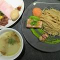 Japanese Soba Noodles 蔦@代々木上原 「特製フォン・ド・Clam つけSoba」