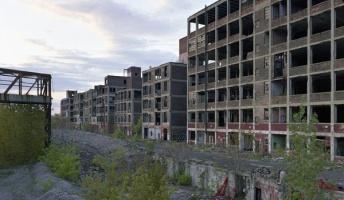 デトロイトの廃墟ガチ異常