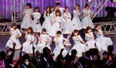 乃木坂46アンダーライブにAKB48小嶋陽菜が登場し、こじ坂46「風の螺旋」を初披露!