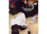 田野優花さんの寝姿をご覧ください…