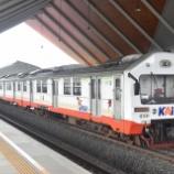 『祝!!全車再就職!!当面安泰の元ジャカルタの電車KRDE Holec』の画像