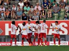 【動画】SVリート×ザルツブルク、試合終了!スタメン出場の南野、2ゴールの活躍で1-4!ザルツブルクの勝利!