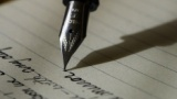 バカ「書くものある?」 ぼく「はい、万年筆」 バカ「インクは?」 ぼく「はい、俺の自作インクの瓶」