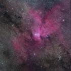 『NGC6188とその周辺の暗黒帯』の画像