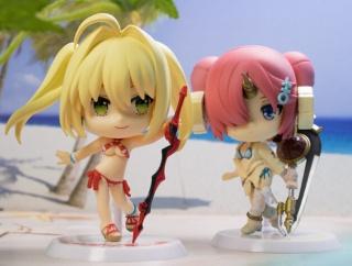 レビュー 一番くじ Fate/Grand Order~夏だ!水着だ!きゅんキャラサマーPART2~ ネロ&フランケン