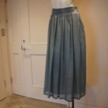 『FABIANA FILIPPI(ファビアナフィリッピ)シルク混フレアスカート』の画像