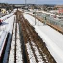 2021富山の鉄道冬景色 JR高山線編⑥雪の八尾駅