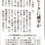 『戸田市は埼玉県で一番人口増加率の高い市だと読売新聞に記事掲載されました』の画像