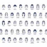 """『この量は凄すぎるwww """"からべん""""さんが描いた『乃木坂46歴代メンバー』似顔絵一覧が素晴らしすぎる件wwwwww』の画像"""