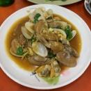台中グルメ 海老,イカ,ハマグリなど海鮮が美味しい熱炒(居酒屋)『阿奇海鮮』