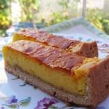 『薬膳スイーツ「かぼちゃのチーズケーキ」試作しました♪12月のコラボセミナー「来年の運気と五行 2011年を漢方・薬膳的にみる」キャンセル待ちです』の画像