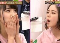 【AKBINGO】濵咲友菜と下尾みうが「ゲテモノ息相撲」で対決www