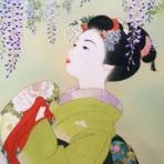 絹本着色技法のおひめさま絵/喜翔のブログ