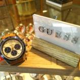 『ゲス時計の特価入荷しましたよ❗️』の画像