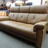 『【売切市・2010年7月20日まで】(ボーナスセール) 純国産のコンパクトサイズのソファー 148,000円』の画像