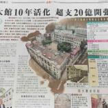 『建設工事から10年…旧警察署が文化複合施設「大館」に』の画像