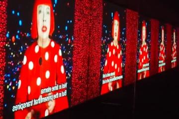 海外「偉大な日本人の一人」草間彌生のジャカルタ展示会開催に彼女への称賛の声