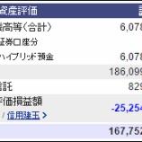 『週末(11月12日)の保有資産。1億6775万。』の画像