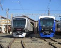 『レインボーカラー完成まであと1歩 静岡鉄道A3000形』の画像