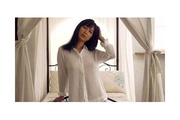 【着エロ】泉水蒼空のYシャツから透けるエロ乳首