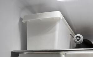 冷蔵庫で活用 セリアの収納グッズ