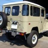 トヨタ・ランドクルーザー(BJ41V)の整備