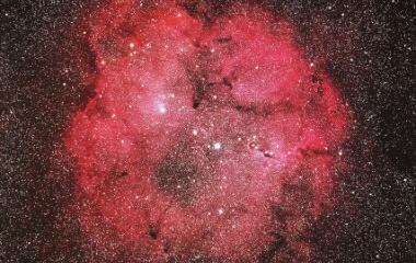 『赤城山プチ遠征 ケフェウス座の散光星雲(IC1396)』の画像