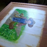 『戸板に描く・2』の画像