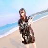 田島芽瑠「#彼女と海デートなうに使っていいよ」
