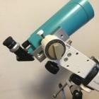 『マクシー60に24.5mmアイピース&片持ちフォーク式赤道儀 2020/07/18』の画像