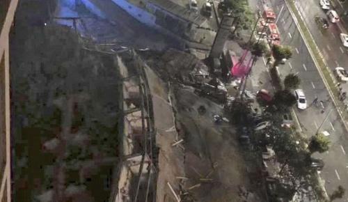 新型コロナ患者を隔離した中国のホテルが倒壊(海外の反応)