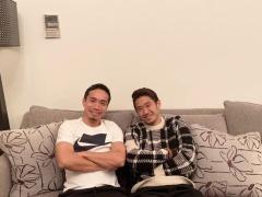 【 画像 】長友佑都、自宅に招待した香川真司と2ショット!