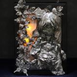 『はんだ付けアート コンテスト応募作品「森の中の少女」』の画像