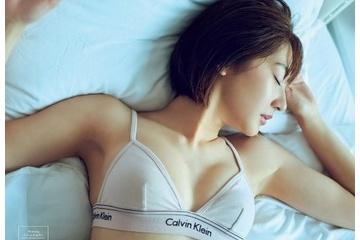 武田玲奈のエッチなブラジャーで寝てるおっぱいがエロすぎ