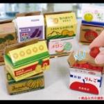 野菜・果物の出荷用ダンボール箱がガチャフィギュアになって登場!「mini 段ボール3」