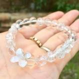 『天然石の数珠ブレスレット』の画像