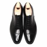 『誂靴 | JOE WORKS JOE-0 CAP TOE ワインハイマーブラック』の画像