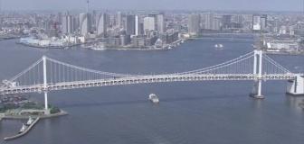 【東京都】コロナ感染状況悪化時はレインボーブリッジ「赤点灯」