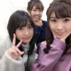 永尾まりや 岩佐美咲 内山奈月の元AKBメンバーで番組収録!!