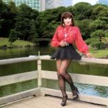 『【留美子讃歌 49】美しい留美子さんと浜離宮公園の風景のコラボ』の画像