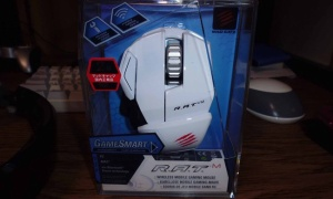 小さいゲーミングマウス Mad Catz R.A.T. M - Bluetooth Smart