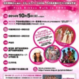 『10月5日(日)のピンクリボンウォークIN戸田市 ゴールの戸田中央病院では「ちんどんバンド☆ざくろ」さんのミニコンサートがあります』の画像