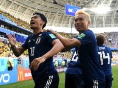 【 日本代表 vs コロンビア 】前半終了!早々にPKを獲得!香川真司が落ち着いて決め日本代表が先制するもFKをきめられ1-1で折り返す!