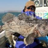 『3月16日 釣果 スロー・ライトジギング クロソイの良型多く出ました!!』の画像