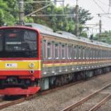 『こちらも複雑怪奇・・・205系横浜線H7編成組成変更』の画像
